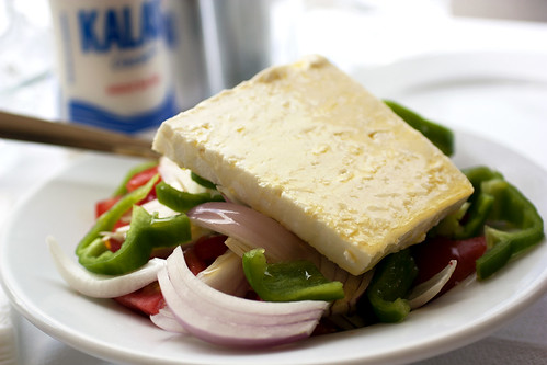 greek salad @ margaro