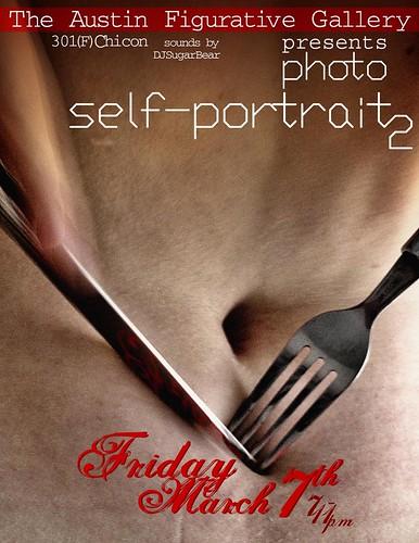 Self Portrait Show Flyer