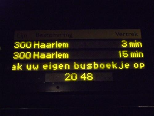 Interliner naar Haarlem CS