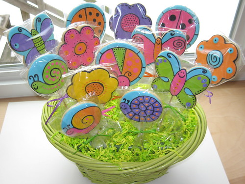Spring time cookie bouquet