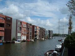 Borneo - Amsterdam (Fabio Garzaro) Tags: holland amsterdam river casa barca fiume barche case fabio borneo olanda quartiere garzaro fabiogarzaro