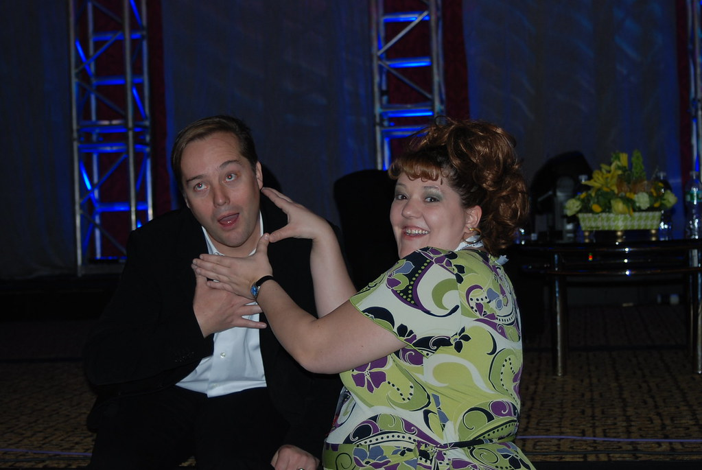 Li Evans & Jason Calacanis at SES New York 2008