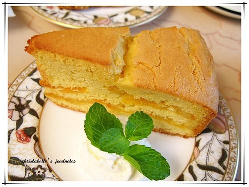 瑪格莉特咖啡館柳橙干邑蛋糕