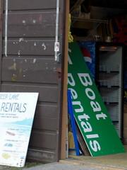 Boat rentals at Deer Lake
