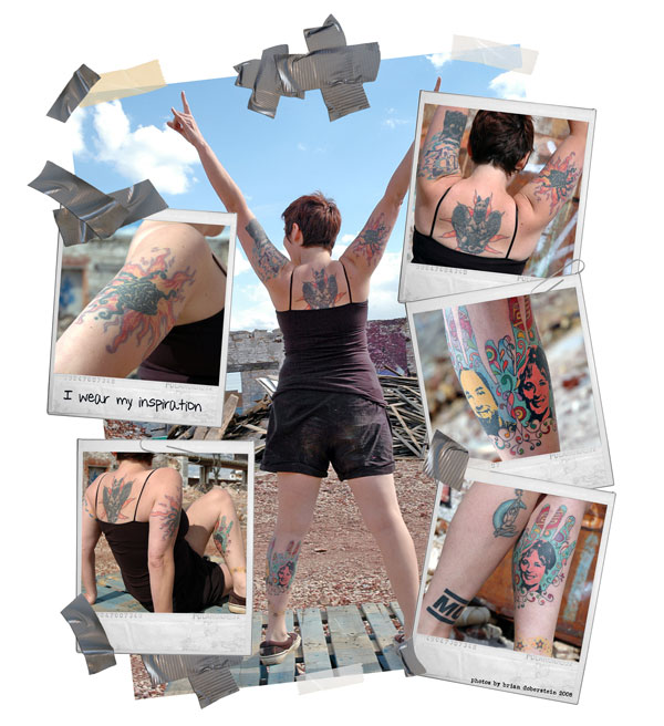 Tattoo Photo Collage 1