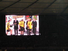 Impression vom DFB-Pokalfinale 2008 in Berlin