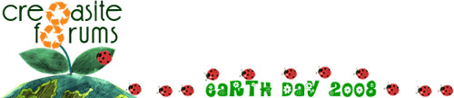 Cre8asite Earth Day Logo