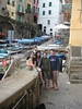 Riomaggiore, with our new friends …