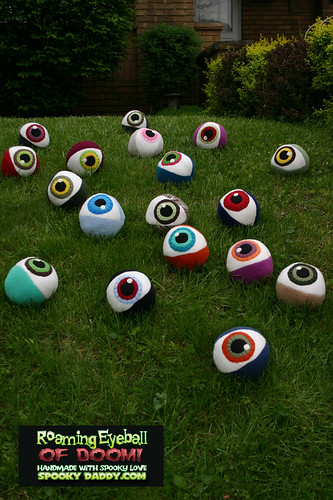 ON SALE Brand spankin new Roaming Eyeballs of DOOM!