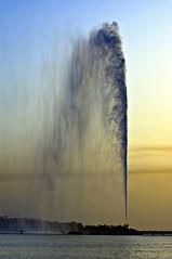 Fountain @ Sunset (Khaled A.K) Tags: fountain photography jeddah saudiarabia khaled ksa mywinners kashkari