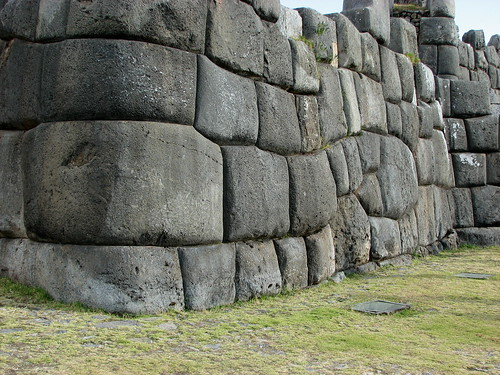 Forms in incan walls