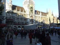 A Crowded Marienplatz
