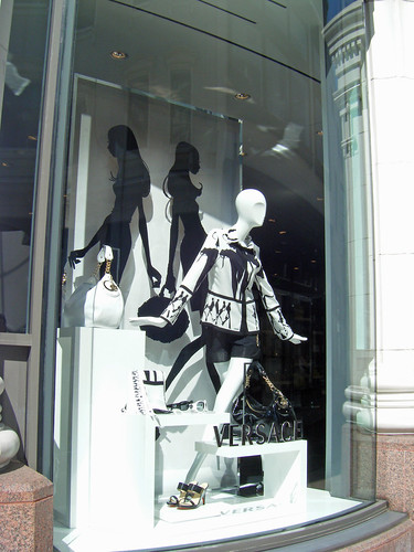 Versace Window Display