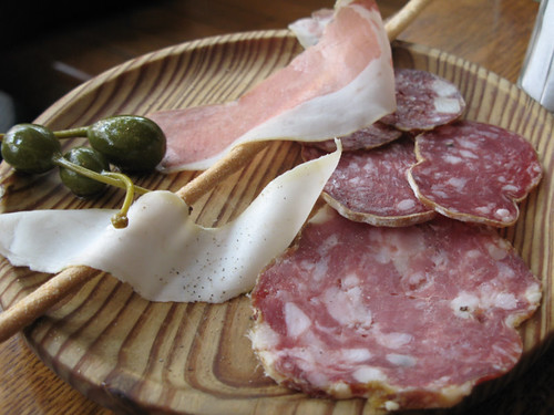 Salumi at Delfina Pizzeria
