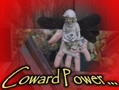 Coward Power. (craigless64) Tags: life music art collage digital photoshop creativity design artist song unique album irony craig hop tune morrison quip cmor