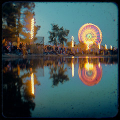 Ferris Reflection (Steven Hight) Tags: duaflex steelpulse marincountyfair ttv stevenhight wisdomisrespectedhatredisrejected tcn:project=13 stevenhight