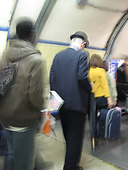 King's Cross Bowler Hat and Umbrella