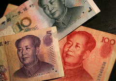 Mao banknotes