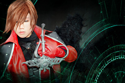 Final Fantasy Genesis Rhapsodos Foto Cosplay