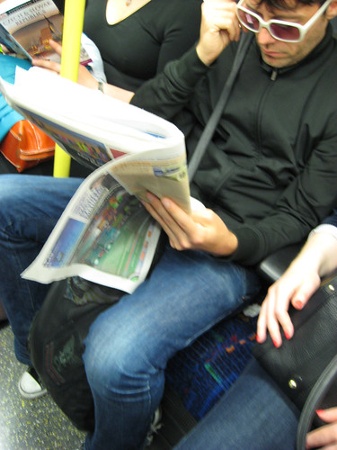 Northern Line Cool? - Sunglasses inside
