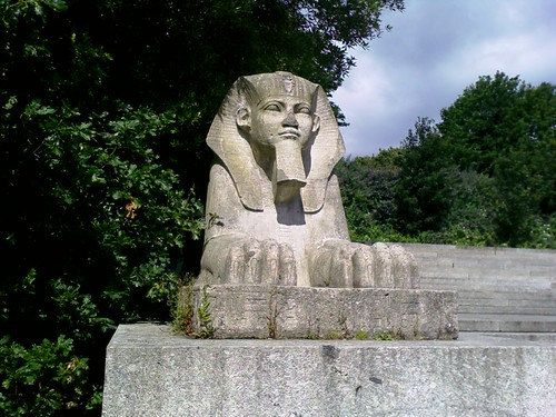 Crystal Palace sphinx 1