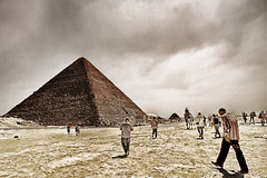 To The Pyramid (Khaled A.K) Tags: people photography raw pyramid dramatic drama khaled soe hdr 1xp abigfave theunforgettablepictures kashkari