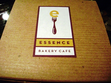 Essence birthday dessert