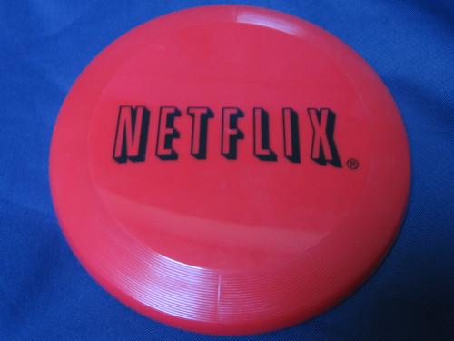 netflix logo. Netflix Logo Frisbee