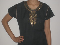 Black cotton Top (nila_16) Tags: kurtis blouses cottontops indiantops