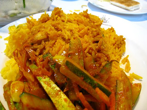 Chicken Briyani, partially hidden Kaya Toast - Makansutra Street Food Masters 2008