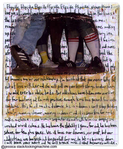 feet polaroid manipulation