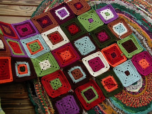 More Red Heart Squares!