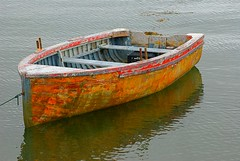 old wooden boat (wplynn) Tags: wood canada bay coast boat wooden east newbrunswick fundy deerisland