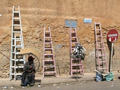 Ladders in Casablanca
