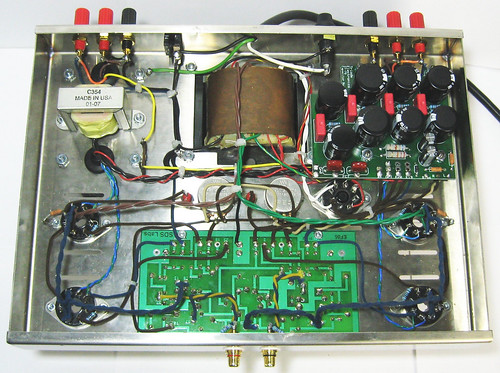 TriodeElectronics.com st70 Tube Amp Kit