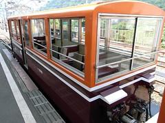 黒部峡谷鉄道のトロッコ電車の特別車両