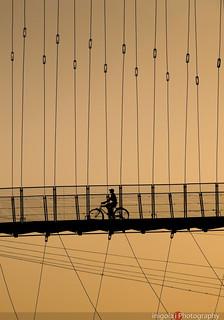 RISHIKESH/sunset bike ride