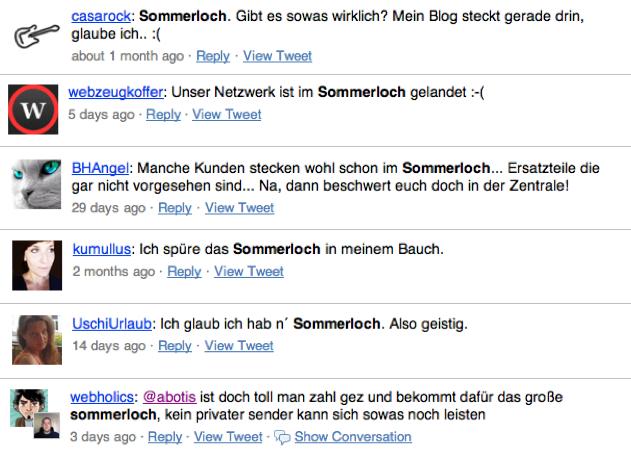 Sommerloch 2