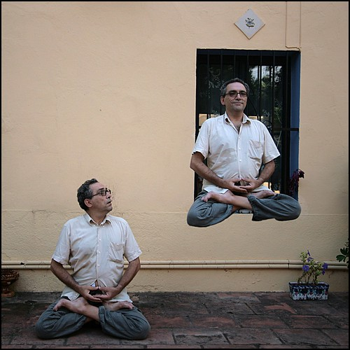 Meditación avanzada, a Joan Fontcuberta (divertimento 1)