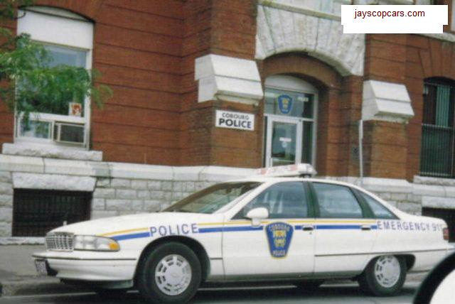ontario canada policecar lawenforcement copcar cobourg policecruiser chevycaprice cobourgpolice 1991chevrolet