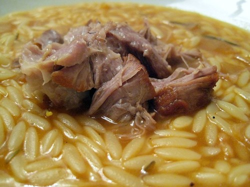 Tender Stewed Lamb with Orzo