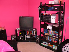 My daughter's newly remodeled room