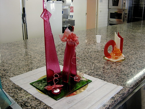 Lupe's sugar sculpture