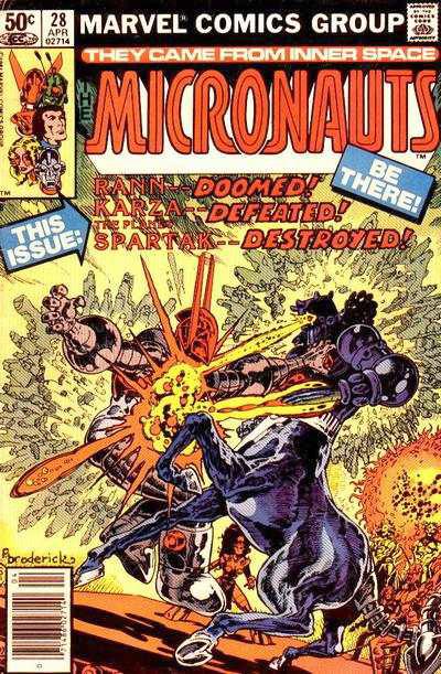 Micronauts #28