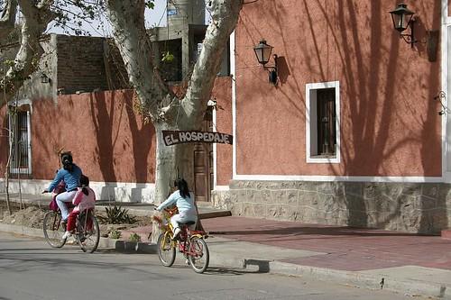 Cafayate street life...