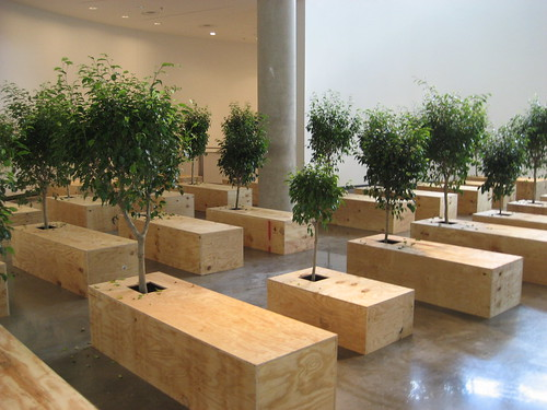 """""""Ex It"""" by Yoko Ono at American University Museum 9/13/08 - 18 by you."""