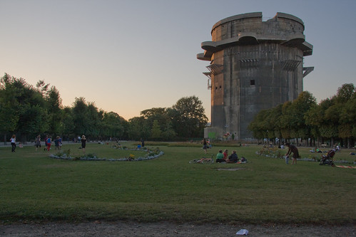 Giant WW2 Flak Tower - Vienna