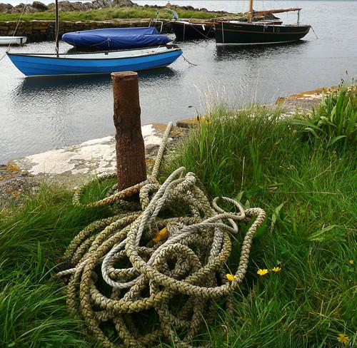 Portencross harbour