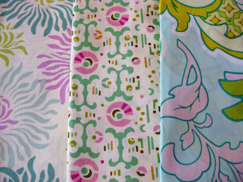 Heather Bailey Fabric- Pastel