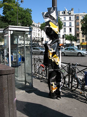 (evoldaily) Tags: paris france ads melted